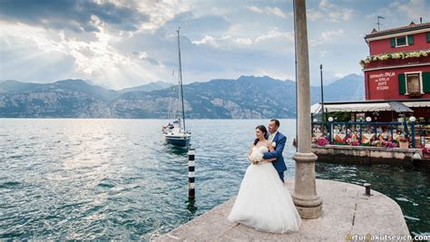 boat trip riva del garda lake garda wedding real marriage in italy