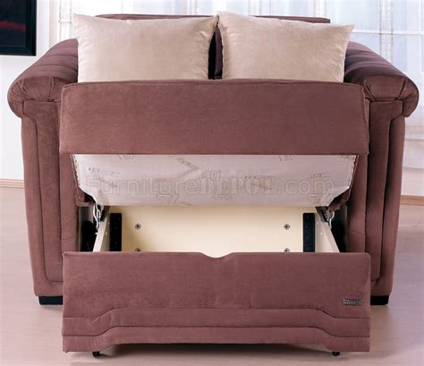 loveseat pull out bed truffle microfiber contemporary pull out bed loveseat