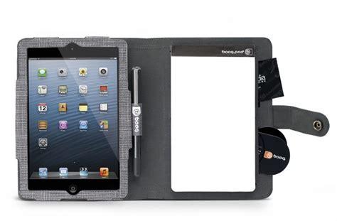 booqpad combines  ipad mini case  notepad