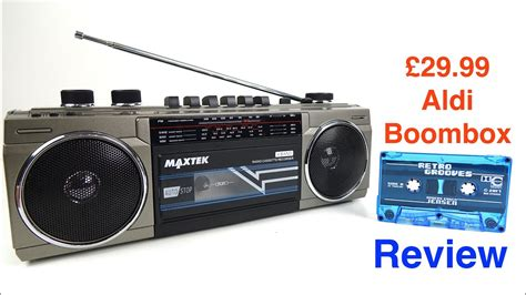 cassette player boombox aldi specialbuys cassette boombox review 8 jun 17