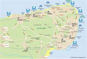 beaches map beaches and bays of margate broadstairs and ramsgate