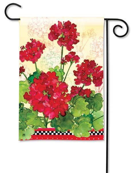 Background Check Flags Magnet Works Geraniums Checks Garden Flag