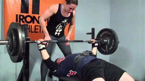 paused bench press rum viii training 290x5x5 paused bench press youtube