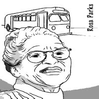 rosa parks coloring page s history month 187 coloring pages 187 surfnetkids