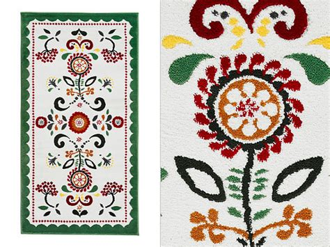 ikea floral rug beautiful floral patterns and trends for 2013