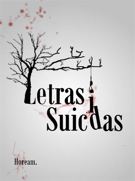 imagenes suicidas para portada letras suicidas sobre el libro