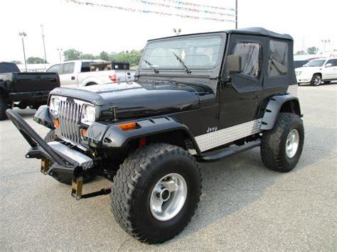 1991 Jeep Wrangler Sale 1991 Jeep Wrangler For Sale Carsforsale