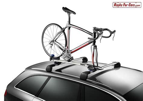 the new thule 528 sprint fork mount roof bike rack www