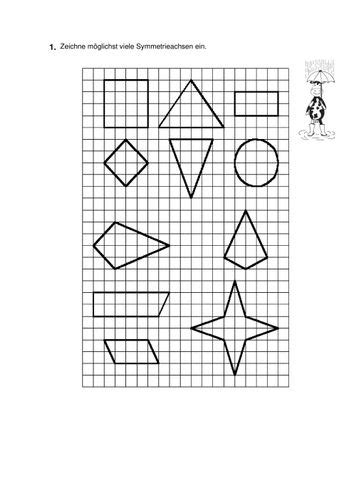 vera  symmetrie unterrichtsmaterial im fach mathematik