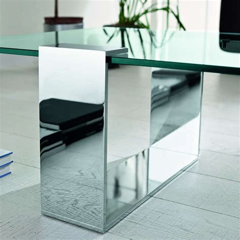 plinsky glass coffee table by tonelli klarity glass