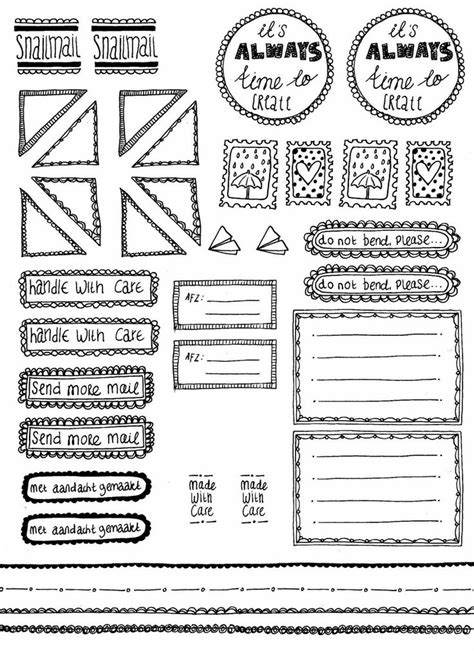 Etiketten Drucken Mit Pages by 15 Best Images About Doodle Frames Border Labels On