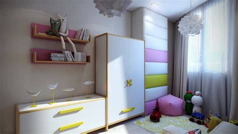 modern kids room casting color over kids rooms