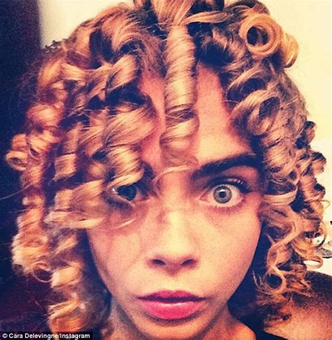 boys hair ringlets curls cara delevingne ditches poker straight hair for corkscrew