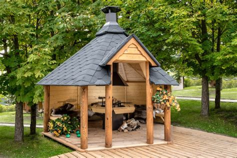 Log Cabin Barbecue by Bbq Huts