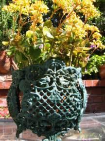 garden metal planters for sale antiques classifieds