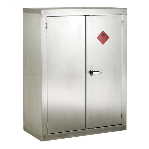 steel armoire stainless steel flammable storage cabinet 915mmw x 1830mmh