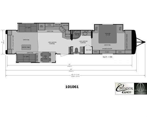 3 bedroom rv floor plan 3 bedroom travel trailer floor plan