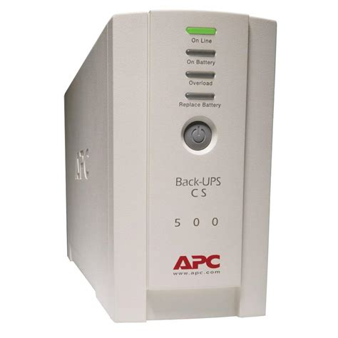 Batery Ups apc 500va ups battery backup bk500 the home depot