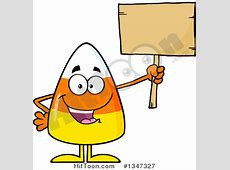 Candy Corn Clipart #1347327: Cartoon Halloween Candy Corn ... About:blank Free Halloween Clipart