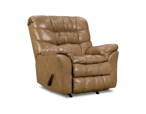 simmons upholstery 689p bonded leather recliner