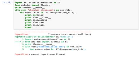 python tutorial xml dom python cannot from xml dom import element stack overflow