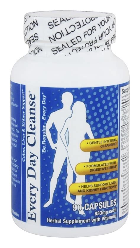 Detox And Colon Cleanse Supported By Liver Enzymes by Health Plus Every Day Cleanse Colon Liver Kidney