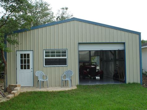 Small Metal Garage by Metal Shop Buildings With Living Quarter Interior Pictures