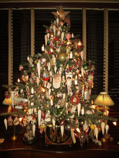 5' table top tree on the sideboard in the dining room. All
