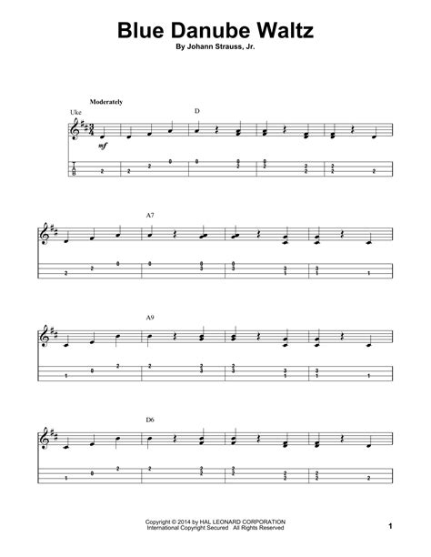 blue ukulele song tabs blue danube waltz by johann strauss jr ukulele