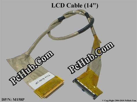 Cable Dell Inspiron 1440 Cn 0m158p dell inspiron 1440 lcd cable 14 quot dp n 0m158p m158p 50