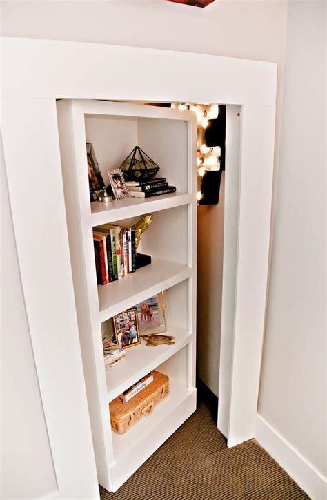 Bookcase Closet Doors Closet Bookcase Woodworking Projects Plans
