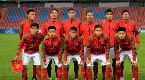 Timnas Indonesia 4 calon lawan timnas indonesia di piala asia u 16 2018