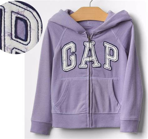 gap toddler baby girl light purple french terry floral