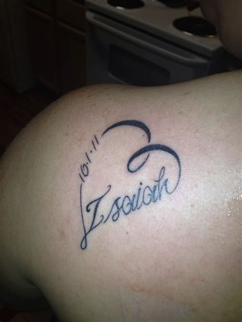 tattoos for son s name cool name ideas ideas mag