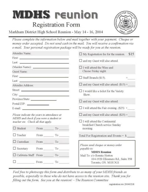 high school registration form template image gallery high school registration form