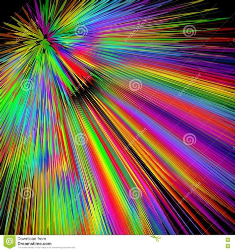 disco colors rainbow explosion abstract multicolored vector background