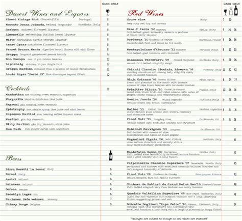 design wine menu 61 best wine list design images on pinterest menu layout