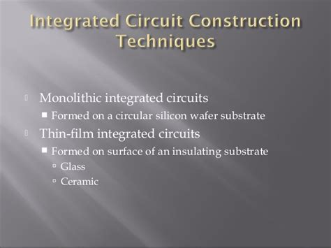 integrated circuits disadvantages disadvantages of using integrated circuits 28 images what are the advantages of using