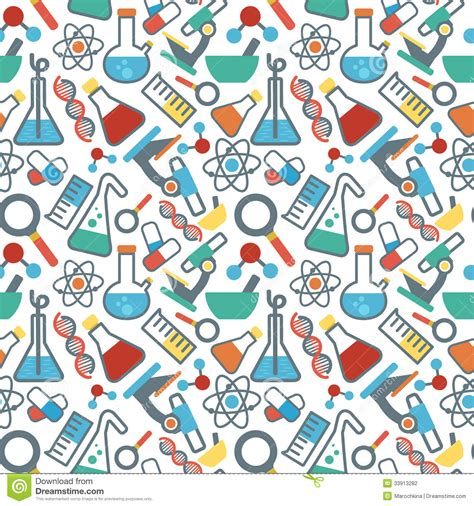 pattern definition for science seamless pattrn science stock photography image 33913282