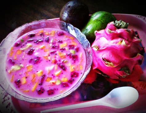 cara membuat sop buah untuk jualan resep es buah naga merah yang segar untuk minuman berbuka