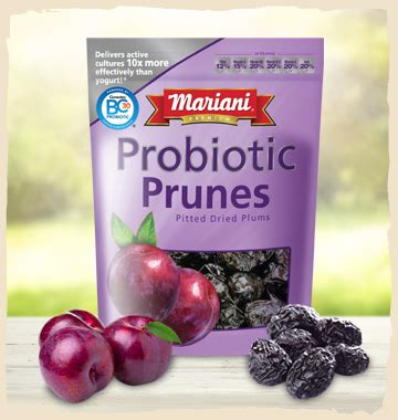 Mariani Pitted Dried Prunes 283g mariani probiotic pitted prunes just one serving of