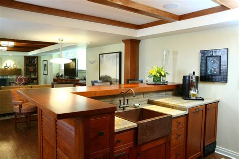 butcher block kitchen island breakfast bar copper kitchen sinks kitchen traditional with black island