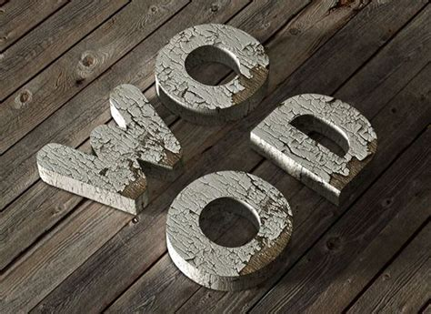 wood typography photoshop tutorial how to create a 3d chipped painted wood text effect in