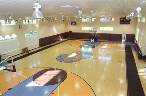 Houses With Indoor Basketball Courts For Sale by 16 Homes With Basketball Courts You Can Buy Now Huffpost