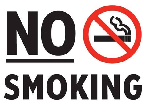 no smoking sign fine lagos bans smoking in public places offenders liable to