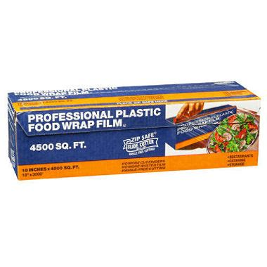 plastic wrap professional plastic food wrap film 18 quot x 3000 sam s club