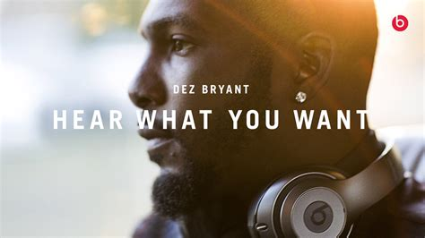beats by dre x dez bryant hear what you want