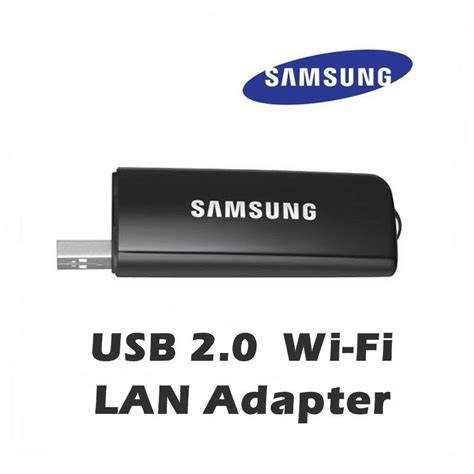 samsung tv wireless usb 2 0 wi fi lan adaptor wis12abgnx wis09abgn next model ebay