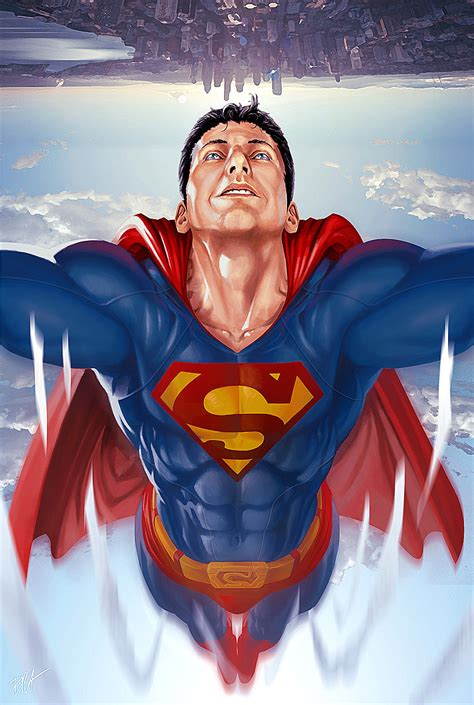 superman painting free superman painting by brahamil on deviantart