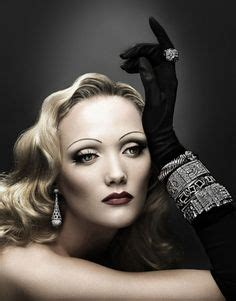 Make Up Marlene Hariman giuliano bekor photography marlene dietrich project and exotic